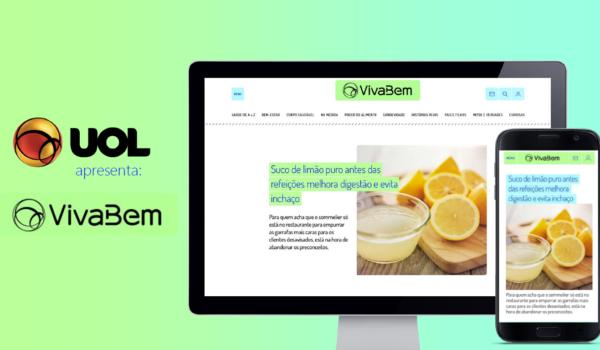 UOL VivaBem chega como plataforma de referência em saúde e bem-estar
