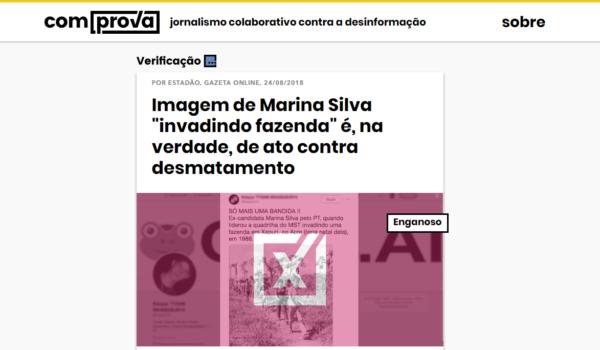 Projeto Comprova engaja eleitores no combate à desinformação sobre eleições