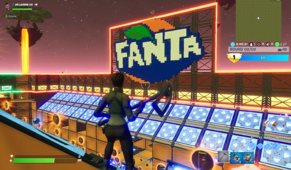 Fanta cria mapa no Fortnite. Aprenda com a marca a jogar nos eSports