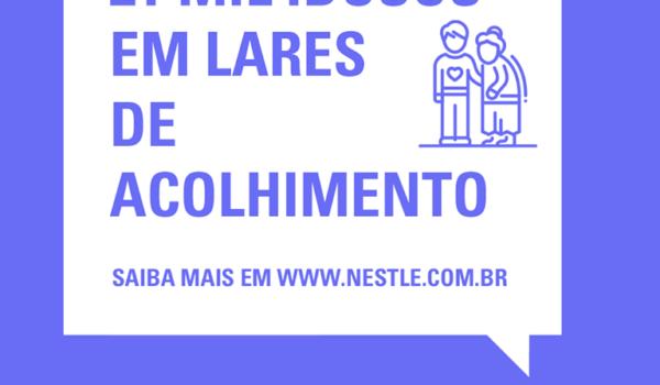 Covid-19: Nestlé e outras marcas realizam ações para auxiliar idosos