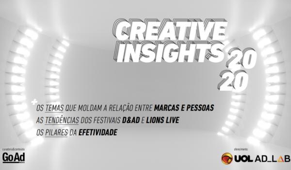 Creative Insights 2020: report aponta tendências dos festivais de criatividade