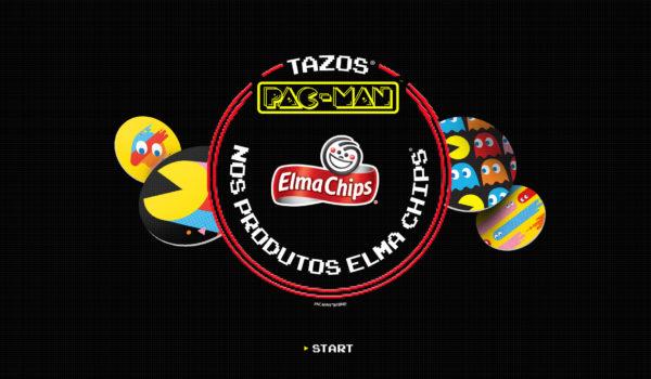 Elma Chips e PAC-MAN promovem encontro de gerações com retorno de Tazos
