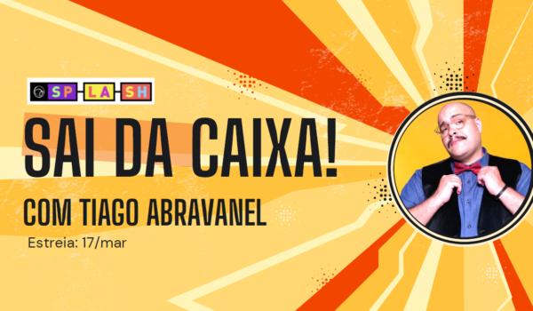 'Sai da Caixa': série musical com Tiago Abravanel no UOL abre território para marcas